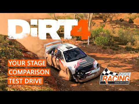 DiRT 4 PS4 Gameplay - Your Stage Australia Comparison Test Drive