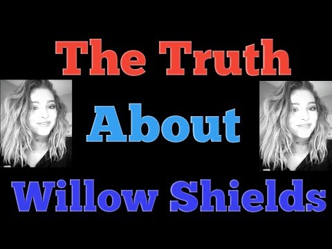 The Truth About Willow Shields..Shocking