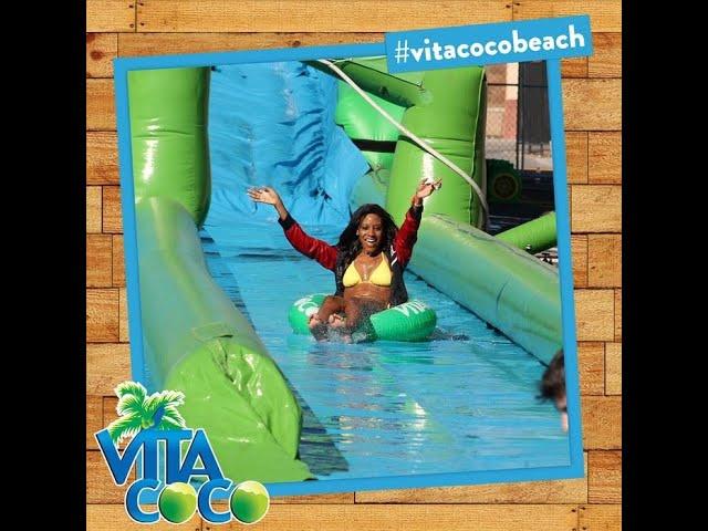 🥥🌴Best coconut water, VITA COCO LIVE event marketing w/ brand ambassador influencer Waltriessa