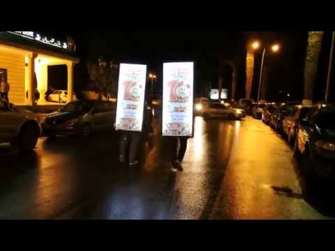 Action Street Marketing DAY & NIGHT : BIG SMILE by MUSE