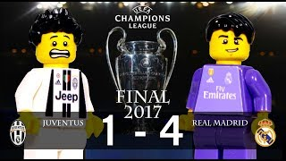 LEGO Champions League Final 2017 JUVENTUS - REAL MADRID