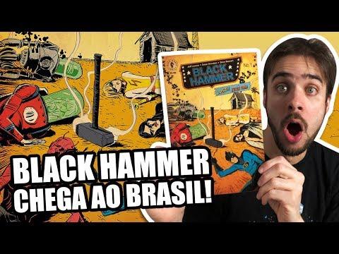 MAIS JEFF LEMIRE NO BRASIL: CONHEÇA BLACK HAMMER!