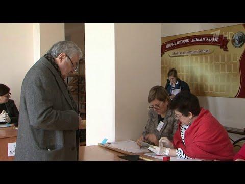 В Абхазии подводят итоги повторных выборов президента.