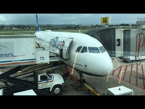 JetBlue A320 Flight MCO-SJU