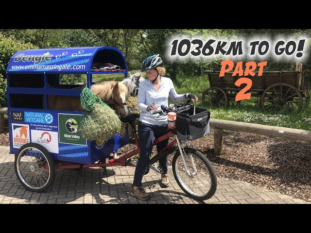 Cycling across Europe with 2 Ponies and the Dog! Part 2