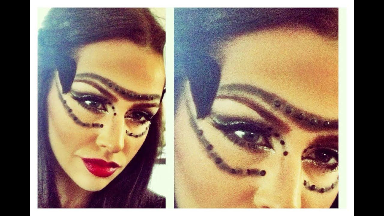 Cat Woman Inspired Halloween Makeup Look - YouTube