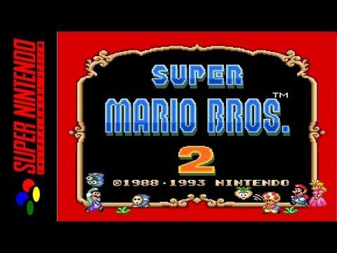 [LONGPLAY] SNES - Super Mario All-Stars - Super Mario Bros 2 (HD, 60FPS)