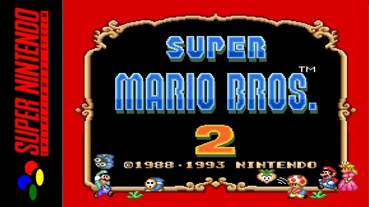 [LONGPLAY] SNES - Super Mario All-Stars - Super Mario Bros 2 (HD, 60FPS)