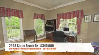 2928 Stone Creek Dr | 804-835-6064 | Home for Sale in Sandy Hook
