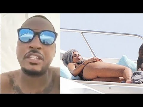 Carmelo Anthony HEATED After Cheating Rumors With Girl While On Vacation!