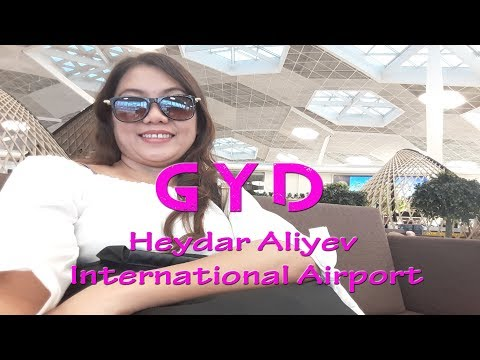 GYD Heydar Aliyev International Airport Baku Azerbaijan