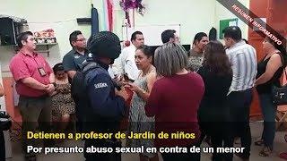 Detienen a profesor por presunto abuso sexual de un menor en jardín de niños   Resumen-20-Junio-2017
