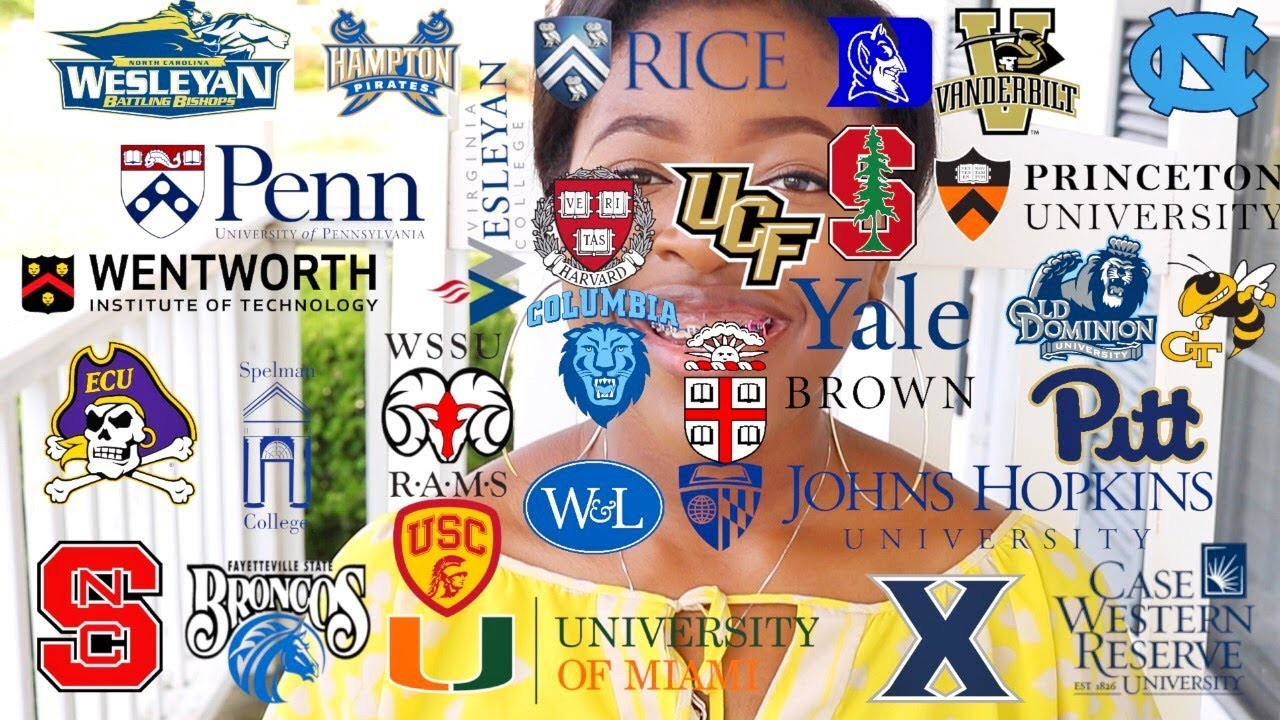 I Applied to Over 30 Schools⎟My College Application Journey ...