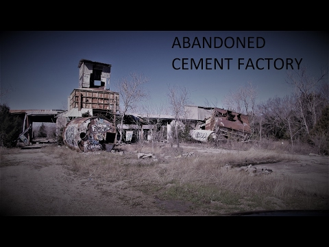 ABANDONED CEMENT FACTORY
