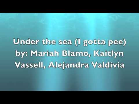 under the sea (i gotta pee) urinary system song