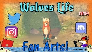 ROBLOX - Wolves' Life Beta - Fan Arts! #38 - 60FPS HD