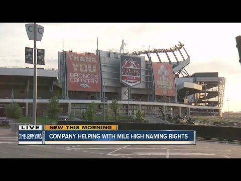 Want your name on the Denver Broncos' stadium?