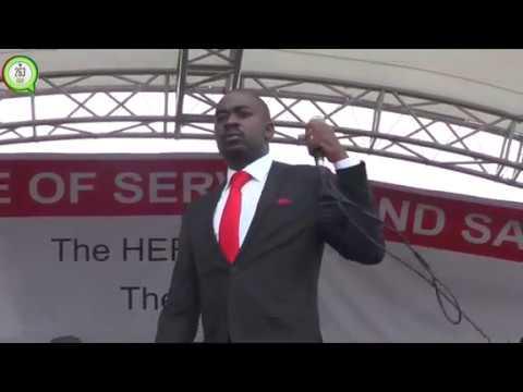 Nelson Chamisa in Buhera during Tsvangirai's funeral #263Chat