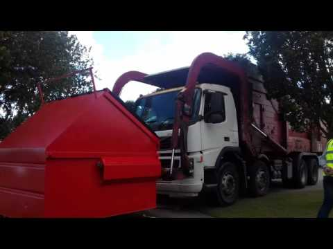 Biffa waste services British front loader (4 of 4)