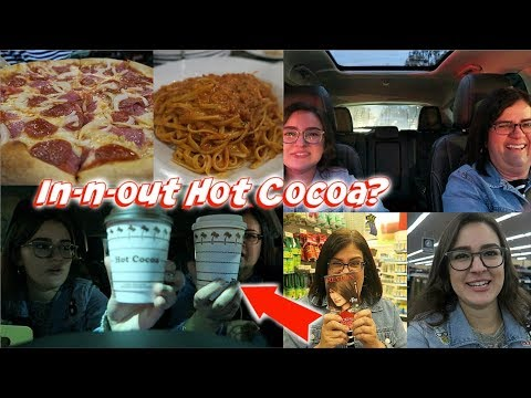 IN-N-OUT HOT CHOCOLATE, TARGET, & ITALIAN FOOD! - A Day in the Life #5