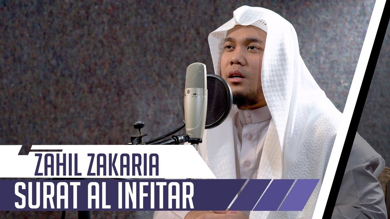 Best Voice Surat Al Infitar Zahil Zakaria