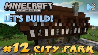 minecraft square epic pe build
