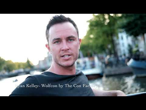 Ryan kelley press event Wolfcon Amsterdam by The Con Factory