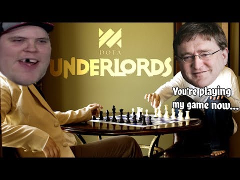 DOTA UNDERLORDS - VALVE'S TAKE ON AUTO CHESS