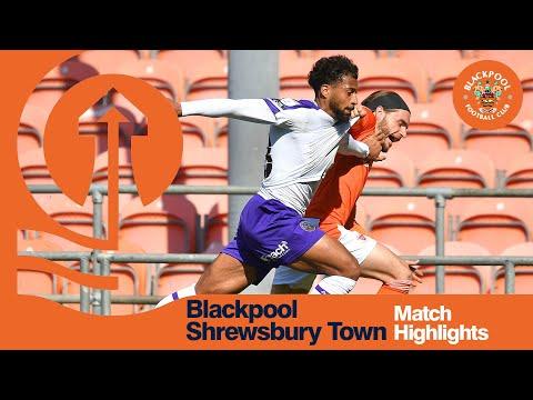 Blackpool Shrewsbury Goals And Highlights