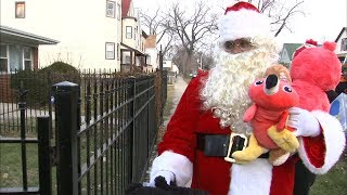 Christmas gifts delivered to children of security guard killed by Midlothian cop