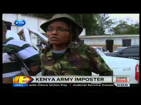 News: Kenya Army imposter arrested
