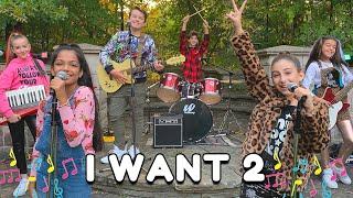 I Want 2 - Mini Pop Kids Original Song [Official Music Video]