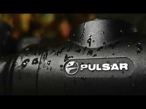 Охота на кабана в снегопад с прицелом Pulsar Digex N455 дистанция 105 метров