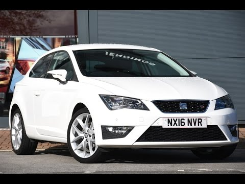 Used Seat Leon 1 4 Ecotsi 150 Fr 3dr Technology Pack White 2016