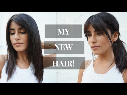 I Got Bangs New Haircut VLOG