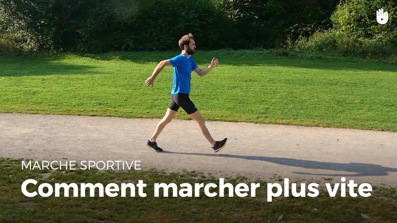 Comment Marcher Plus Vite Marche Sportive Youtube