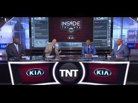 "Barkley: ""Pacers and Raptors, Yall going to be on NBA TV!"""
