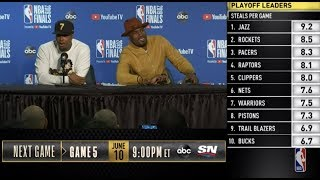 Kyle Lowry & Serge Ibaka Press Conference | NBA Finals Game 4