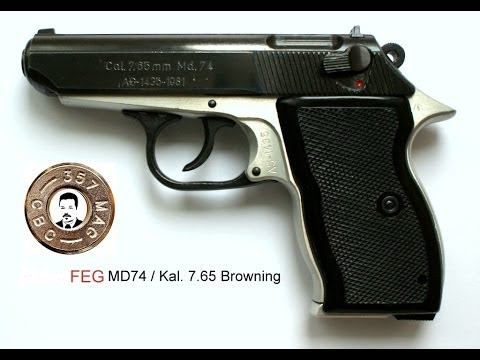 Pistole FEG MD-74 / 7.65 Browning zerlegen (disassembly)
