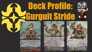 cardfight vanguard deck profile gurguit stride