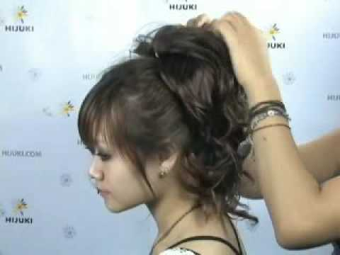 Updo hair wire wrap wig hair extension wavy wig youtube pmusecretfo Gallery