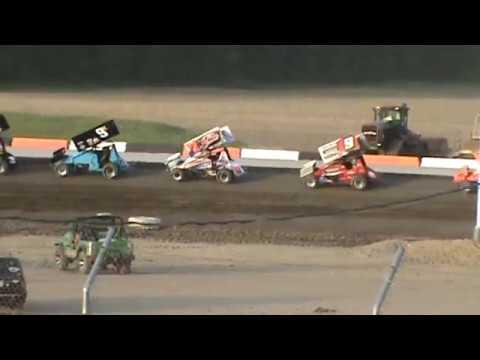 cale conley flip at attica raceway park