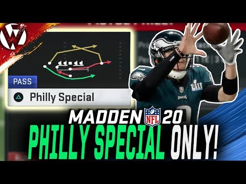 PHILLY SPECIAL ONLY CHALLENGE! - Madden 20 Gameplay