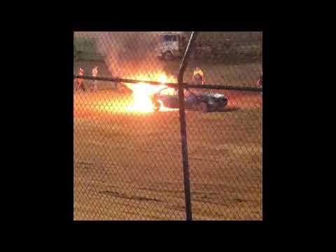 Car Fire @Harris 7/28/18😢