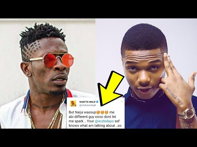 SHATTA WALE Goes Off On WIZKID And NIGERIANS Are Coming For Him