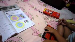 Arfi Belajar Berhitung Sempoa ( Anak 4 Thn )
