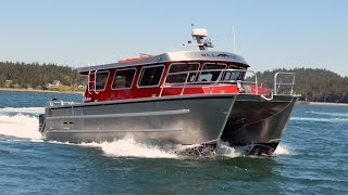 ACI Boats' Alegria 1534XC, 34' Aluminum Catamaran
