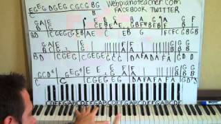How To Play Ballade Pour Adeline On The Piano Shawn Cheek Lesson Tutorial