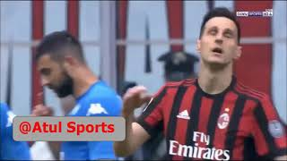 Ac milan vs napoli 0-0 highlights 15 04 2018 seria a