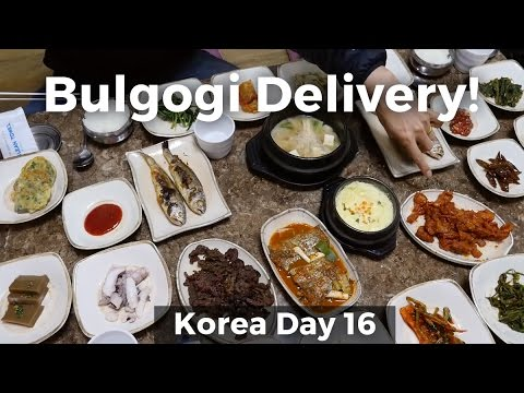 Incredible Bulgogi Delivery and Chili Paste Village (Day 16)